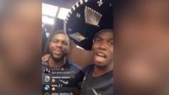 """Pogba festeja con sombre de charro y Griezmann grita: """"Viva México Cabrones"""""""