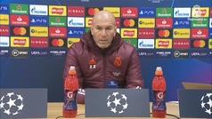 """Zidane: """"Siempre que el Madrid está en el campo es para ganar"""""""