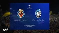 Champions League (J1): resumen y goles del Villarreal 2-2 Atalanta