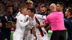 Champions League (Grupo A): Resumen y goles del PSG 3-0 Real Madrid