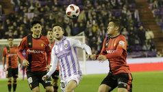 Copa del Rey (1/16, vuelta): Resumen y goles del Valladolid 2-1 Mallorca