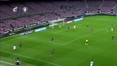 El Sevilla reclamó un penalti por mano de Lenglet en la prórroga