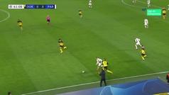 El 'jugadón' de Kurzawa en Dortmund que acabó... en desastre