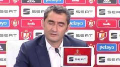"""Valverde: """"Hace 15 días estábamos pensando en el triplete"""""""