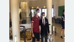 Erik Lamela ya está en la concentración del Sevilla
