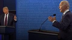 Lo peor del debate entre Trump y Biden