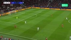 Gol de Barinov (1-2) en el Leverkusen 1-2 Lokomotiv