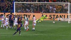 Gol de Messi (1-0) en el Barcelona 3-0 Alavés
