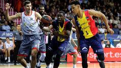Liga ACB. Resumen Andorra 87-74 Burgos