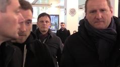 Eriksen en Milán para firmar por el Inter