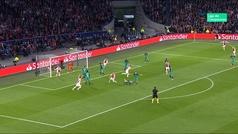 Gol de De Ligt (1-0) en el Ajax 2-3 Tottenham