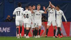 Europa League (cuartos, ida): Resumen y goles del Villarreal 1-3 Valencia