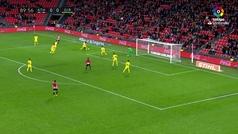 Gol de Aduriz (p.) (1-0) en el Athletic 1-0 Girona