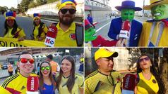 "30.000 colombianos en Morumbi: ""Queremos un 4-0 a Catar"""