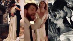 Miley Cyrus y Liam Hemsworth son marido y mujer