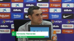 """Valverde: """"El premio se llama 'El mejor' y el que para nosotros es el mejor, no estaba"""""""