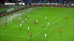 Gol de Brais Méndez (1-0) en el España 1-0 Bosnia
