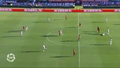 La insólita expulsión de Coloccini... ¡al realizar una ruleta 'a lo Zidane'!