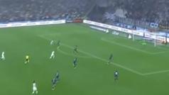El Velodrome celebró con locura el gol de Milik... ¡y acabaron anulándolo!