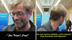 La genial confusión entre un periodista italiano y Klopp por 'Pepe' Guardiola