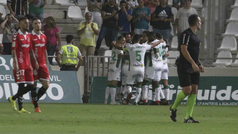 Copa del Rey (segunda ronda) resumen y goles del Córdoba 2-0 Nàstic