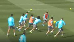 El Real Madrid prepara el derbi en Valdebebas con Benzema en la lista de convocados