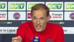 """Tuchel se marca un Van Gaal con la prensa tras ganar la Copa: """"Siempre negativo"""""""