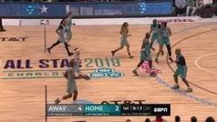 Ray Allen reclama su sitio en la NBA a base de triples