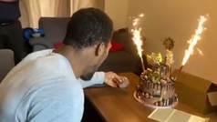 Anthony Joshua celebra su 30 cumpleaños con una espectacular tarta