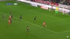 Así fue el gol anulado al hijo de Simeone en la derrota atlética