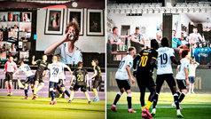 El Aarhus revoluciona el fútbol en la 'era Covid' con sus aficionados animando... ¡por Zoom!