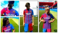 Así presenta el Barça su equipación para la 21-22: Más que una camiseta