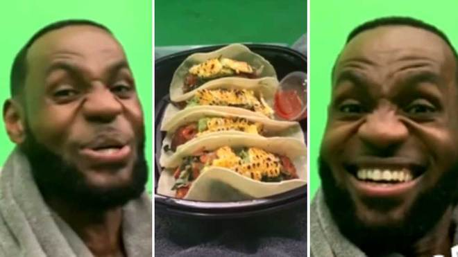 LeBron James Files Trademark For 'Taco Tuesday' Term