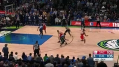 Los Mavericks firman la peor defensa de la temporada en la jugada decisiva