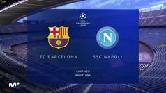 Champions League (octavos, vuelta): Resumen y goles del Barcelona 3-1 Nápoles