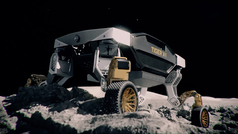 Hyundai Tiger X-1: un vehículo para 'caminar' por la Luna