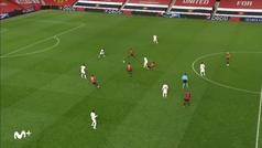 Gol de Rashford (3-0) en el Manchester United 5-0 RB Leipzig