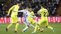 LaLiga (J23): Resumen del Valladolid 0-0 Villarreal