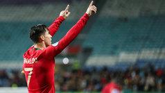 Cristiano se reivindica camino de la Euro: ¡otro 'hat-trick' con Portugal!