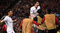 Champions League (octavos, ida): Resumen y goles del Manchester United 0-2 PSG