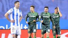 Copa del Rey (octavos, vuelta): Resumen y goles del Real Sociedad 2-2 Betis