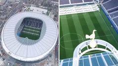 Espectacular 'time-lapse' de la construcción del nuevo estadio del Tottenham