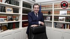"""Antonio Garamendi Presidende de la CEOE: """"La liga es el mejor negocio"""""""