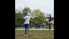 Cuando se juntan el baloncesto, el golf y el fútbol americano ocurren cosas maravillosas