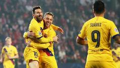 Champions League (Grupo F): Resumen y goles Slavia de Praga 1-2 Barcelona