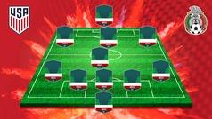 El posible once de México ante Estados Unidos: Abella, Artega y González debutarían