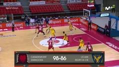 Liga ACB: Resumen Zaragoza 98-86 UCAM Murcia