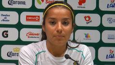 "Cinthya Peraza: ""Vencer a Chivas daría status"
