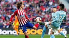 LaLiga (J32): Resumen y goles de Atlético 2-0 Celta