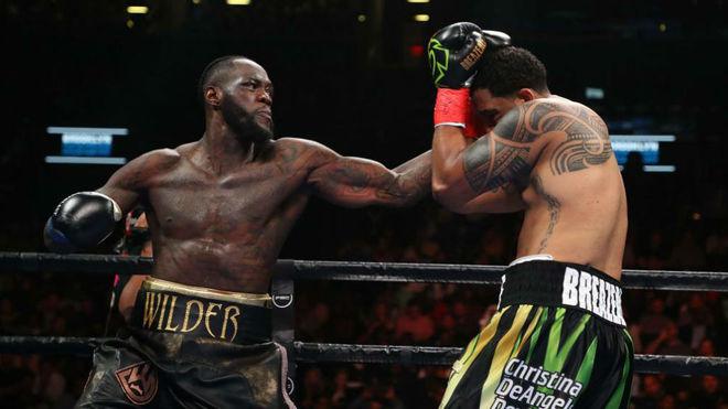 El brutal nocaut de Deontay Wilder en el primer round